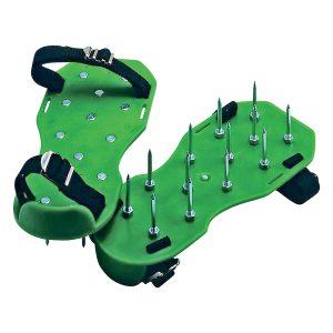 Lawn Aerator Sandals Green Bottom