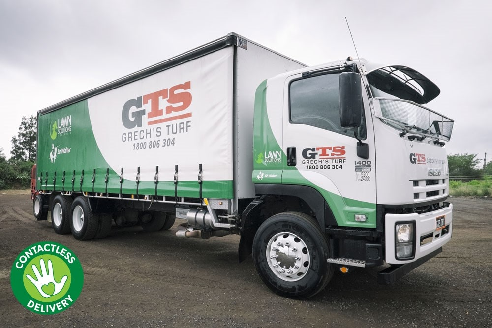 Truck with Turf Loaded | Buy Turf Online