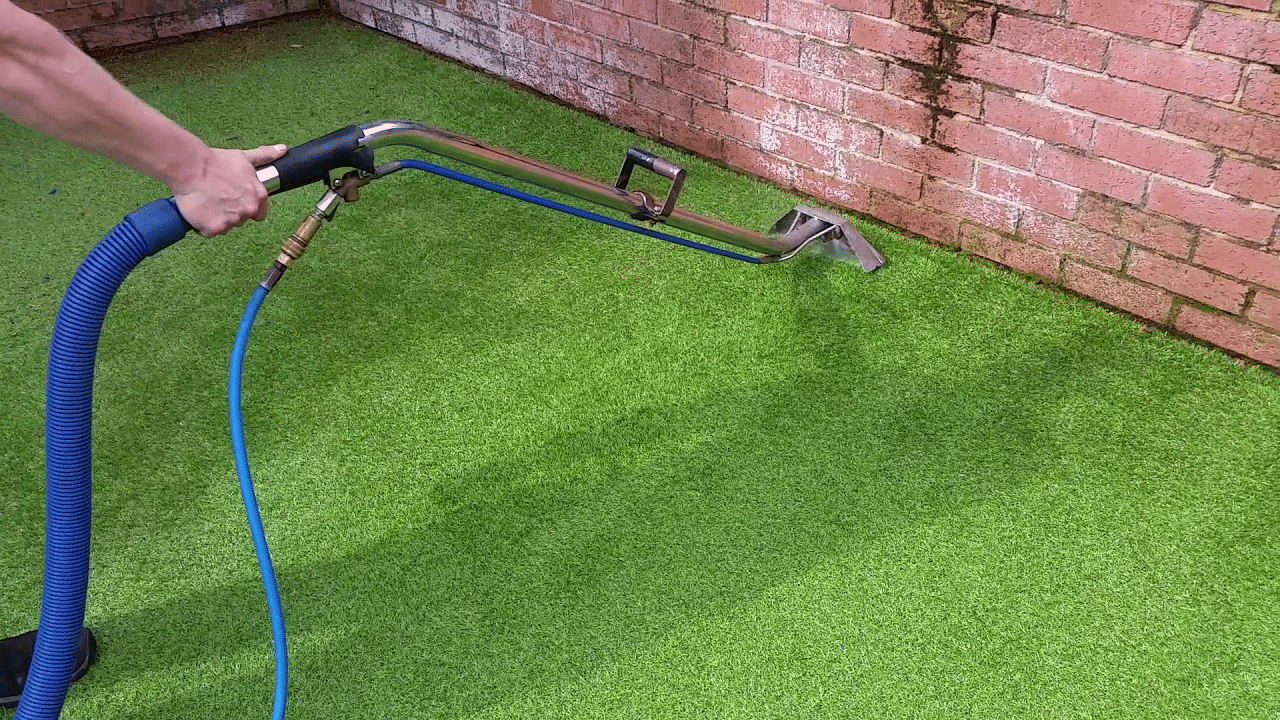 Cleaning Artificial Turf